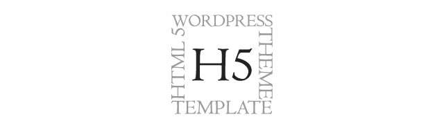 H5 WordPress Theme