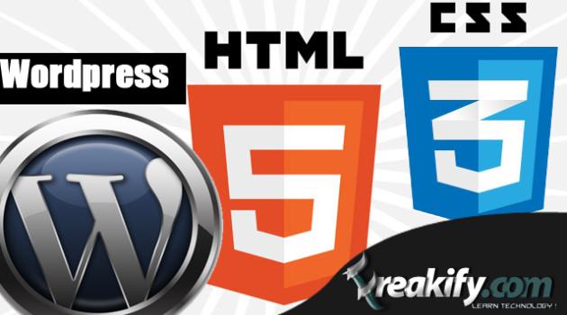 15+ Free HTML5 CSS3 WordPress Theme Frameworks & Themes : Freakify.com
