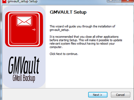 Gmvault- gmail backup
