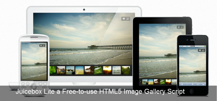 Juicebox Lite a Free-to-use HTML5 Image Gallery Script
