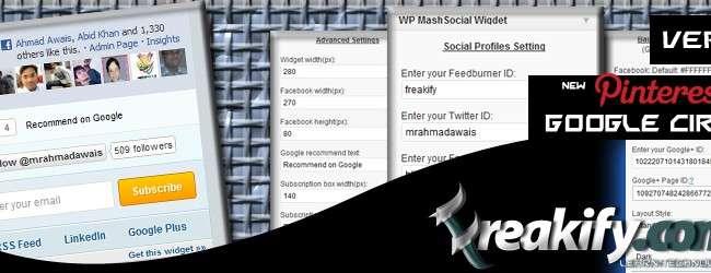 Wp-mashsocial-widget - plugin