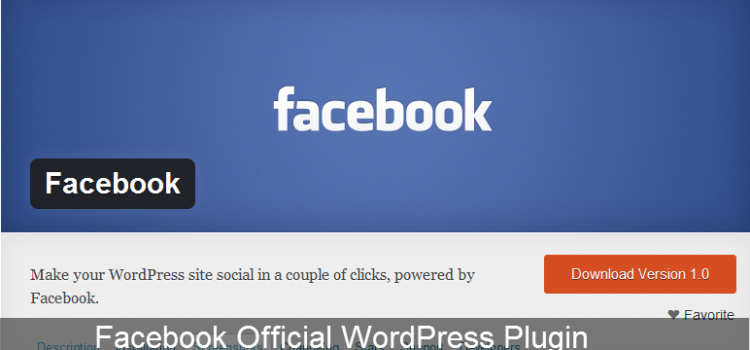 Facebook Official WordPress Plugin