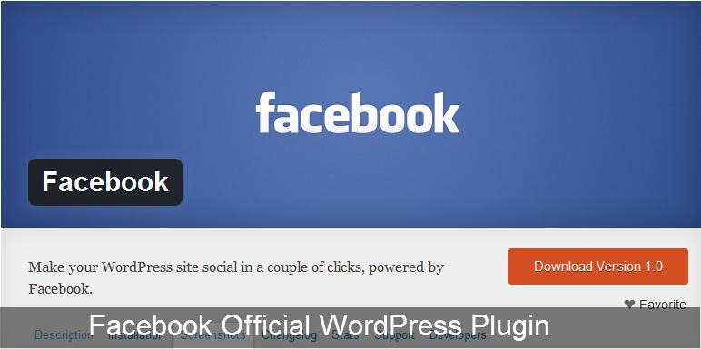 Facebook Official WordPress Plugin