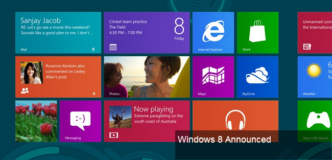 Google Image for Windows 8 Announced