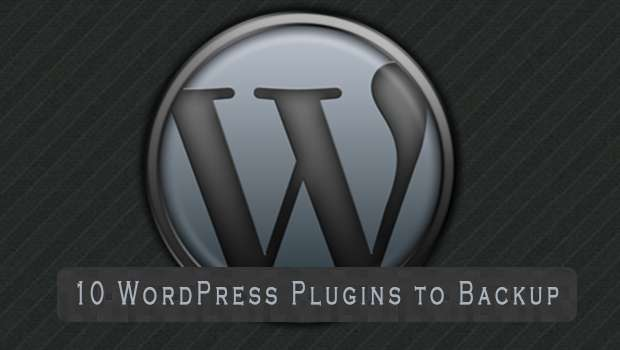 10 WordPress Plugins to Backup your Blog image