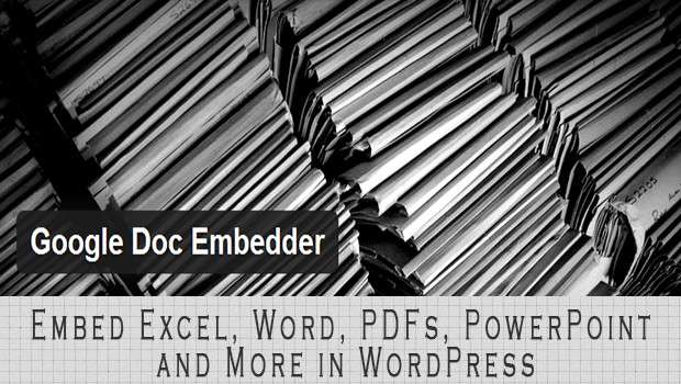 Embed Excel, Word, PDFs, PowerPoint, and More in WordPress