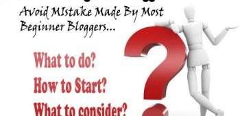 Attitude of beginner blogger