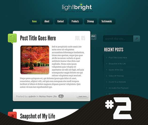 lightbright-wordpress-theme