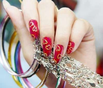 Acrylic New Nail Art Designs 2013 (19)
