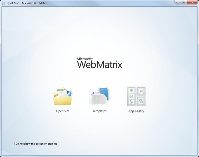 WebMatrix