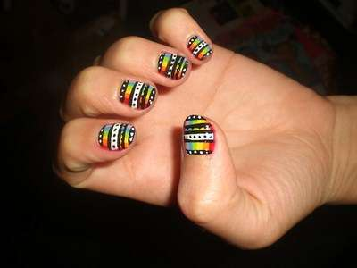 Acrylic New Nail Art Designs 2013 (41)