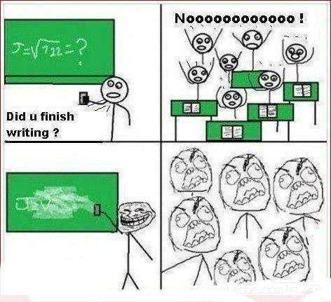 Troll Comics - Some teachers…
