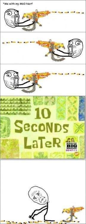 Meme Comics - Nerf Guns