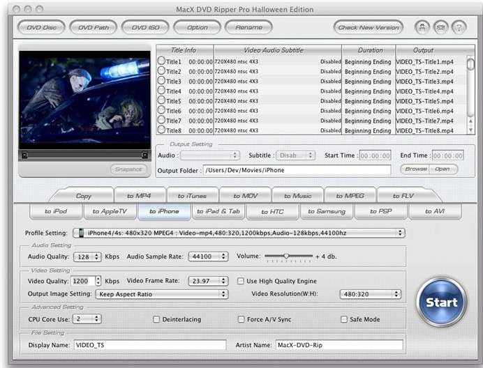 Giveaway of MacX DVD Ripper Pro
