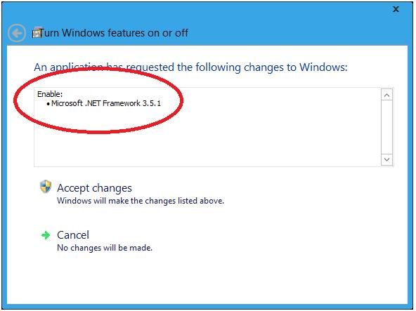 Install Net Framework 3.5.1 in Windows 8 (3)