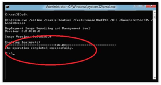 Install Net Framework 3.5.1 in Windows 8 (1)