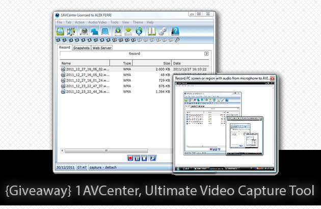 Giveaway 1AVCenter Ultimate Video Capture Tool image