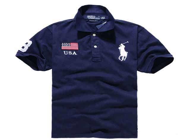 Mens USA T shirts black black Copy image