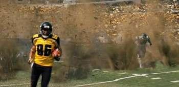 Dark Knight Rises Football Ground Explosion