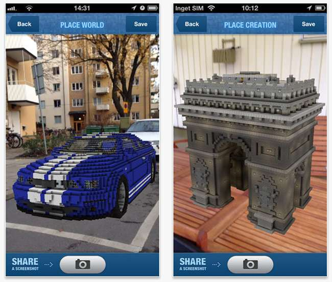 Mojang Augmented Reality Application