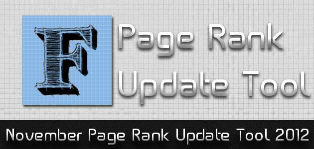 November Page Rank Update Tool 2012 image