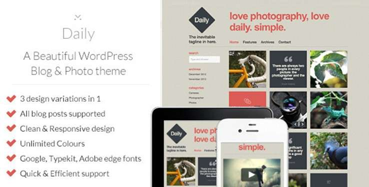 95 Best Paid WordPress Themes in 2013 : Freakify.com