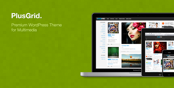 PlusGrid - Creative Portfolio Theme for Multimedia - ThemeForest Item for Sale