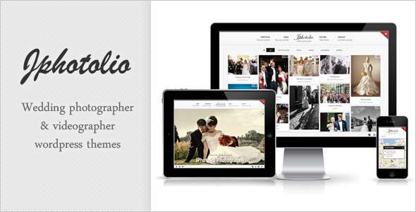 JPhotolio: Responsive Wedding Photography WP Theme - ThemeForest Item for Sale