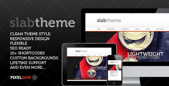 Slab Theme - ThemeForest Item for Sale