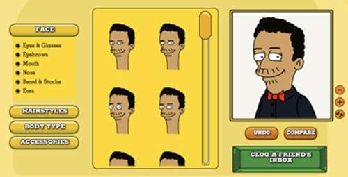 Cartoon Characters Yourself : Sites to create cartoon characters of yourself