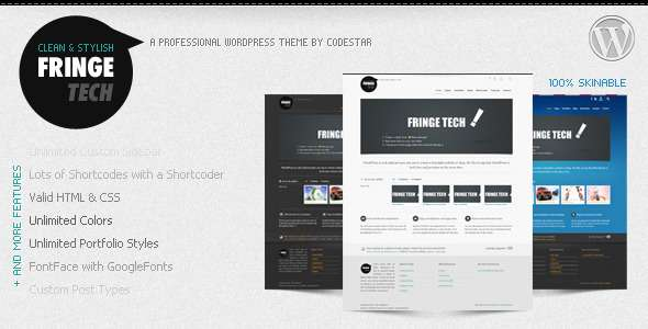 fringe tech premium wordpress theme