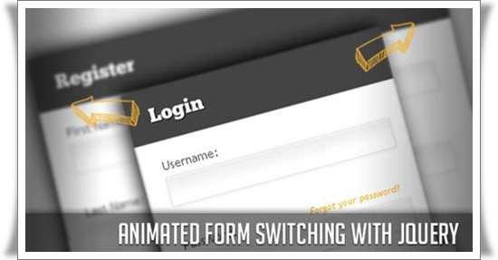 Animated Form Switching with jQuery