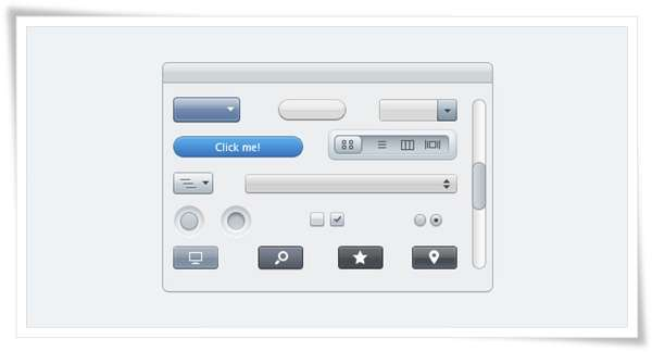 Apple Styled UI Elements