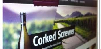 Corked Screwer – Free Website PSD Template