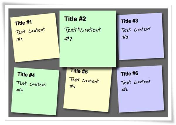 Create a Sticky Note Effect in 5 Easy Steps with CSS3 and HTML51 image