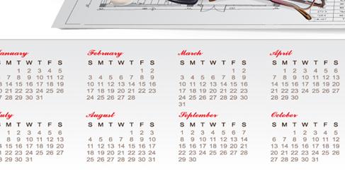 creative calendar 2013 design vector 2