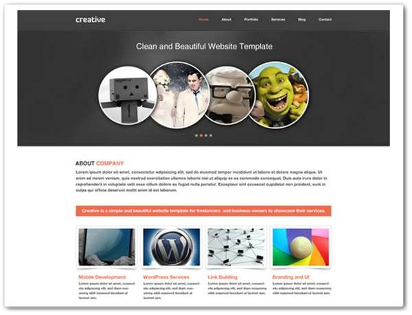 Creative Personal & Business Website