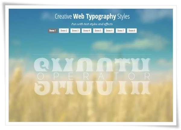 Creative Web Typography Styles image