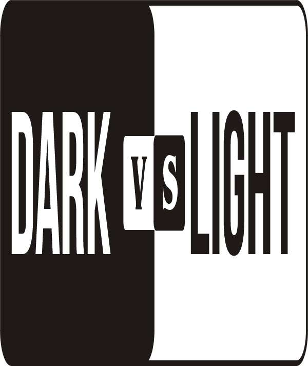 Dark vs Light