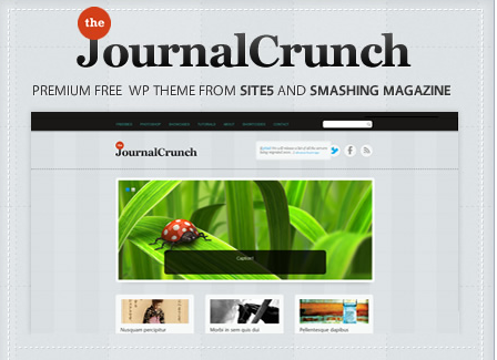 theme for portfolios and magazines journalcrunch
