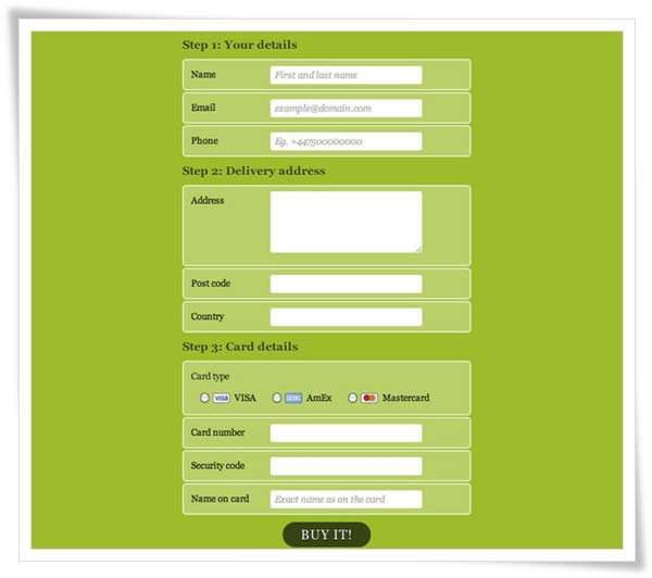 Have a Field Day with HTML5 Forms