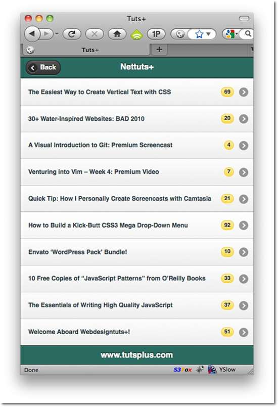 How to Build an RSS Reader with jQuery Mobile