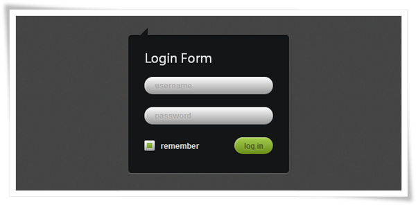 How to Create Login Form with CSS3 and jQuery