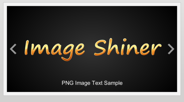 Image Shinner Effect