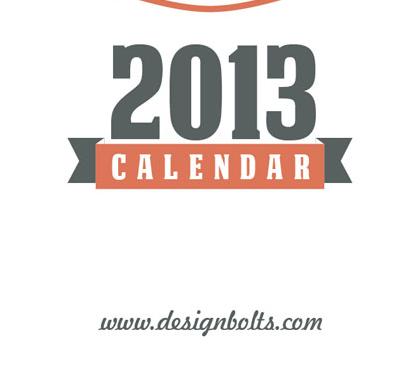 make every day special | free calendar 2013 printable