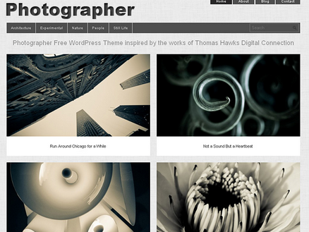 photographer theme