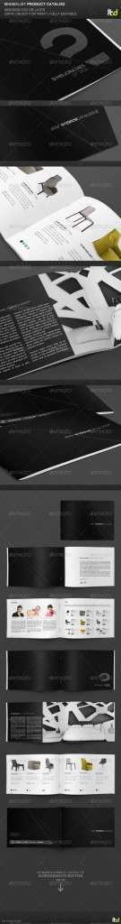 Minimalist Product Catalog  - GraphicRiver Item for Sale
