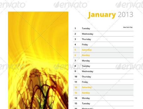 2013 calendars vol 2