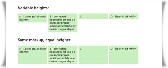 Setting Equal Heights with jQuery