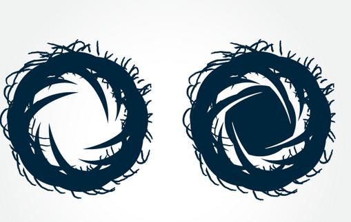 vector bacterial logo tutorial in adobe Illustrator